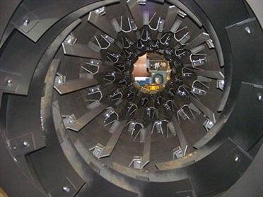inside indirect heat dryer Louisville Dryer Company