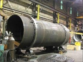 rotary direct heat dryers