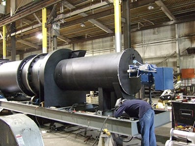 combustion air heater Louisville Dryer
