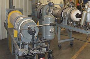 in-house design and testing Louisville Dryer Company