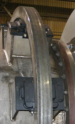 custom solutions direct-fired drying tire mounting systems