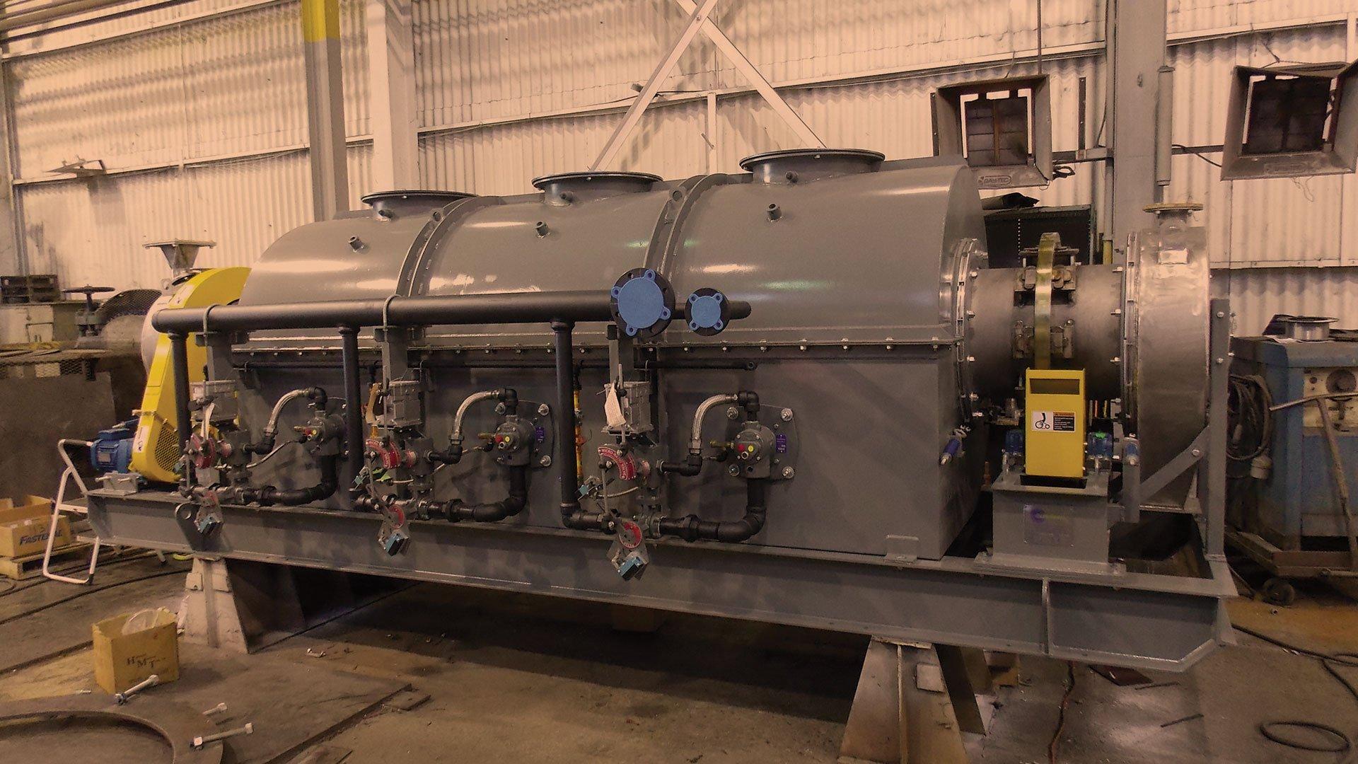 indirect heat dryer