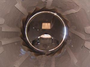 Air leakage in an Industrial Dryer