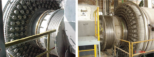 Central Discharge CS Seal Steam Tube Dryers