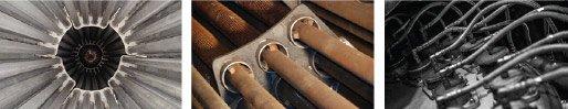steam tube dryer parts